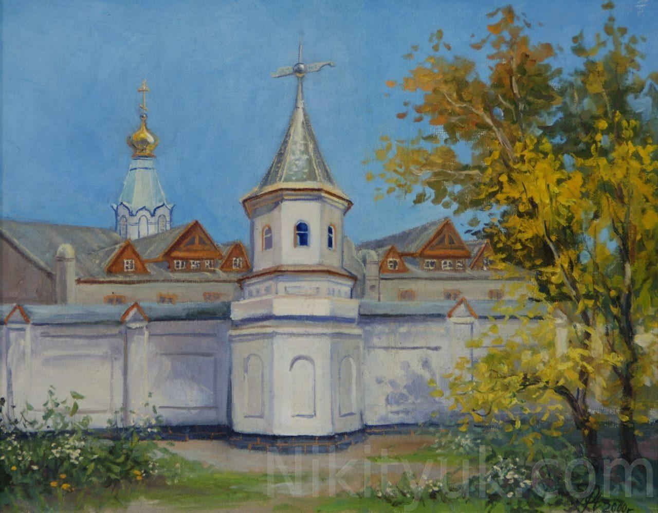 Барнаульская епархия. х.м. 40х50см. 2000г. 8 000 руб., в наличии
