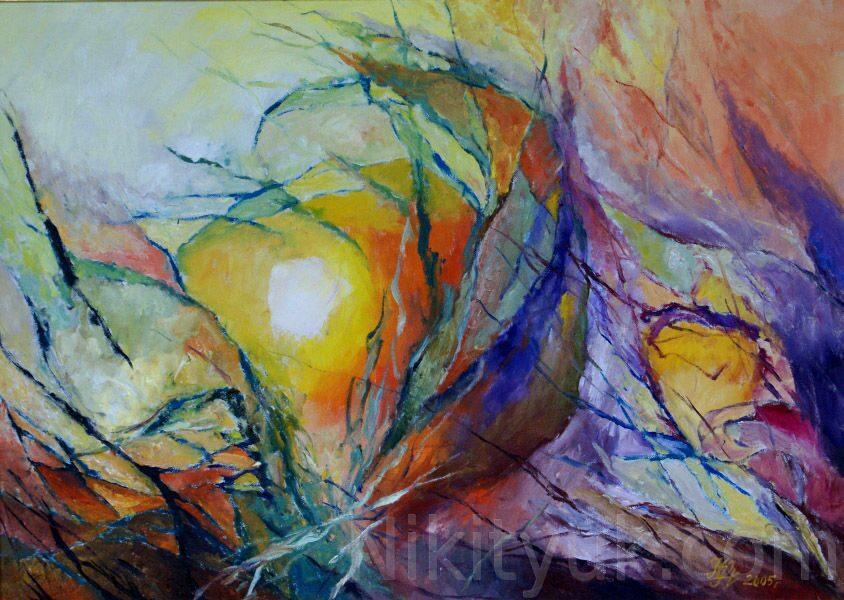 Восход Солнца, х.м., 50х70см, 2005г. 30 000 руб. под заказ