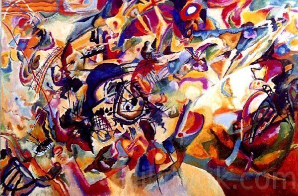 В.Кандинский. Композиция 7. х.м., 1000х60см., 100 000 руб. под заказ