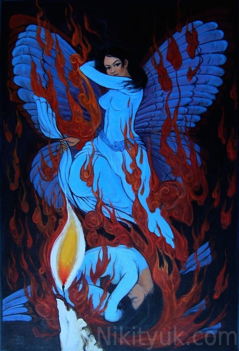 Иллюстрация к стихам Омара Хаяма. х.м., 80х60см, 40 000 руб. под заказ