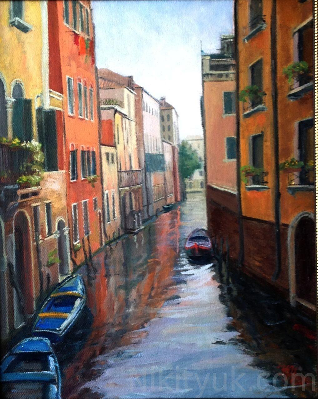 Улочка в Венеции, х.м., 50х40см, 2014г. 15 000 руб. в наличии