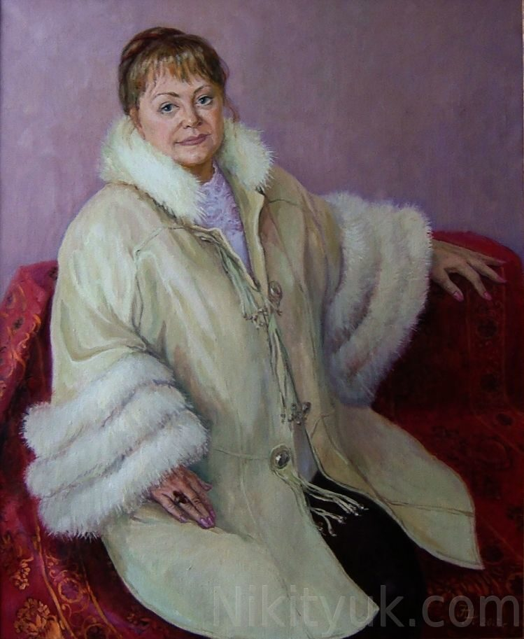 №12 Портрет Татьяны Николаевны, х.м., 85х70см, 2013г.