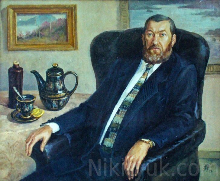 №8 Мужской портрет, 85х70см, х.м.